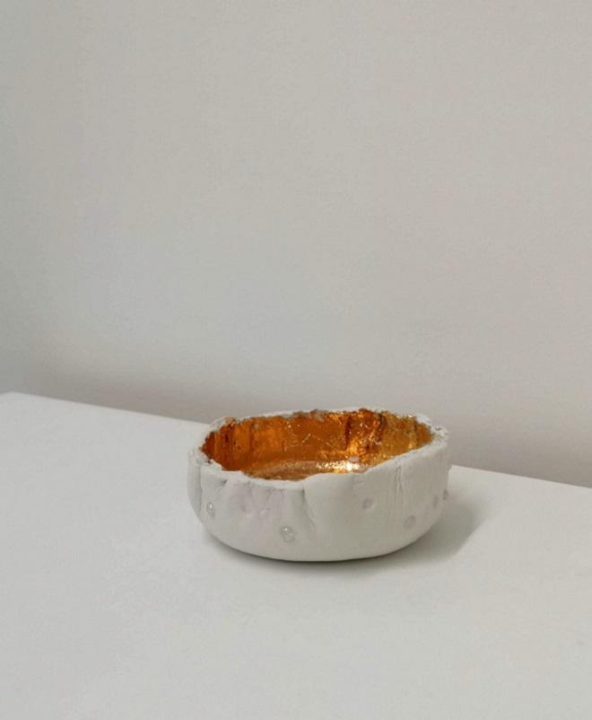 Gilded Trinket Bowl -Sought & Styled