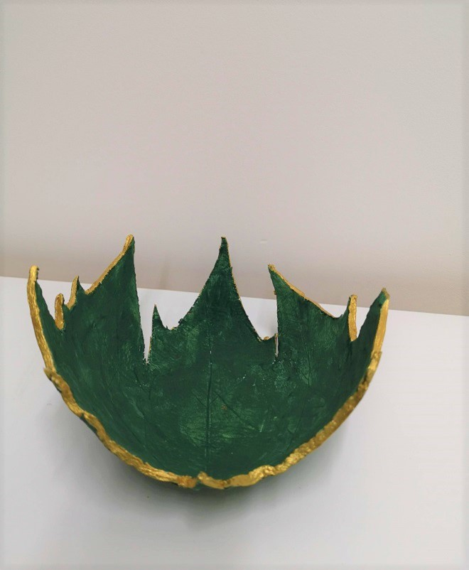 Leaf Bowl -Sought & Styled