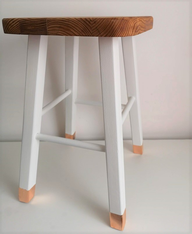 Stool Upcycle - Sought & Styled