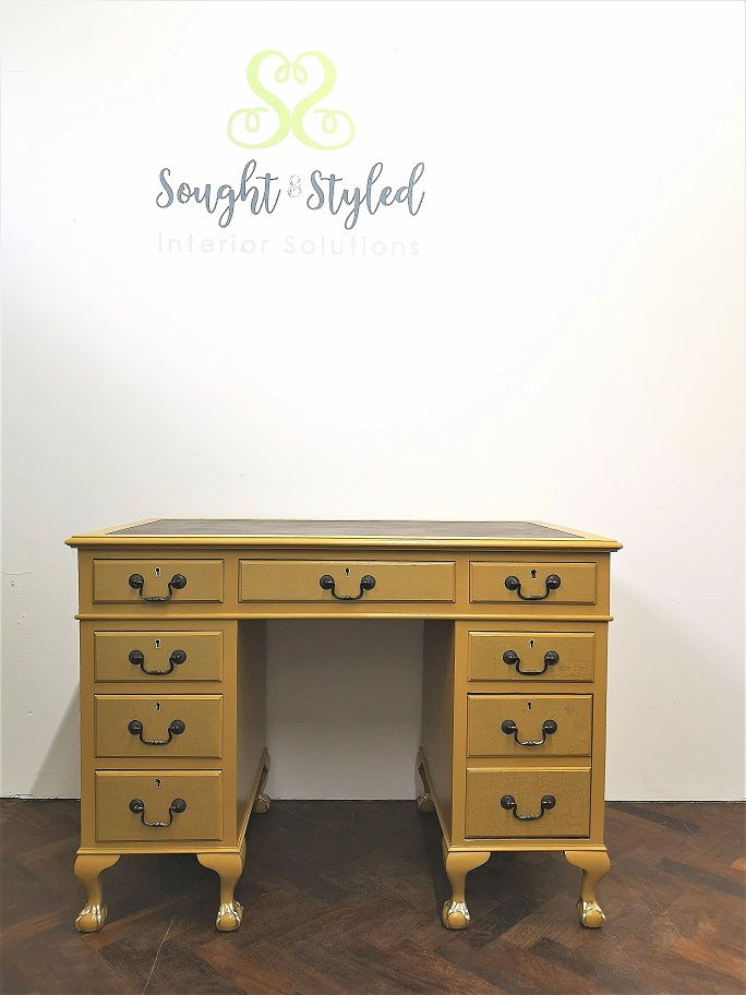 Commissions - Vintage Desk After - Sought & Styled